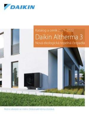 Daikin Altherma 3 - katalog a ceník 2021 / 2022